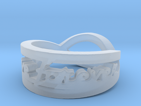 Love Forever Ring (Size 4.5) in Smooth Fine Detail Plastic