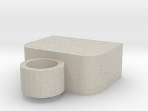 Usb Keyring Cap in Natural Sandstone