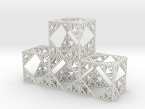 betaholey cubes stacked in White Strong & Flexible