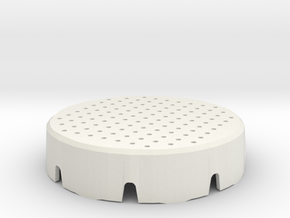 Atta Cover Mm Surface 45 in White Natural Versatile Plastic