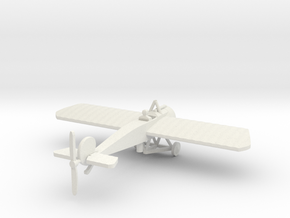FOKKER EIII WITH PILOT 1/144th in White Natural Versatile Plastic