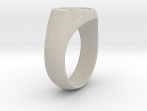 Assassin's Creed Ring 02 US9 in Natural Sandstone