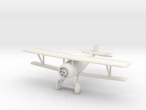 1/144 Nieuport 24 bis (Vickers gun) in White Natural Versatile Plastic