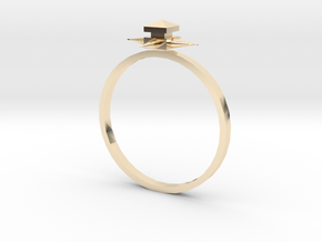 Temple Ring - Sz. 9 in 14K Gold