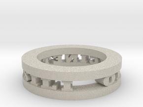 Ring in Natural Sandstone