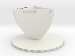gobletbase in White Natural Versatile Plastic