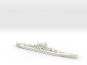 """1/3000 IJN Never Were Super Yamato 8 x 20"""" in White Strong & Flexible"""