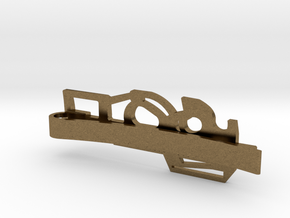 P90 MONEY/TIE CLIP in Natural Bronze