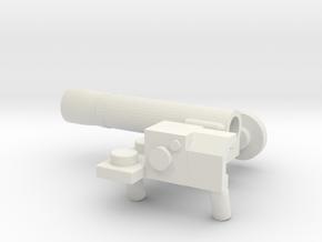 Javelin set in White Natural Versatile Plastic