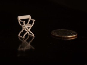 1:48 Savonarola Chair in White Natural Versatile Plastic