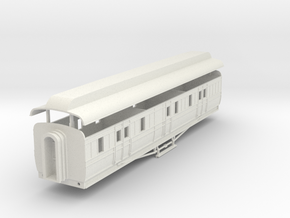 3mm scale GNRi M1 van without duckets in White Strong & Flexible