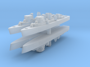 Jupiter minelayer 1:3000 x4 in Smooth Fine Detail Plastic