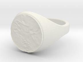 ring -- Sun, 19 Jan 2014 21:50:44 +0100 in White Natural Versatile Plastic