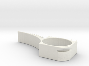 TopOpt DoorStop 2 in White Natural Versatile Plastic