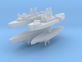 Span-Am Fleet 1:1200 (4 Ships) in Smooth Fine Detail Plastic
