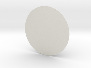 New 18 inch sensor dome in White Natural Versatile Plastic