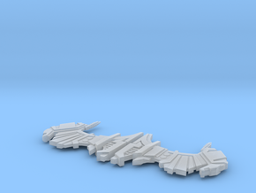 Wing Sets II in Smooth Fine Detail Plastic