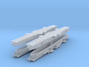 CVA-58 1:6000 x4 in Smooth Fine Detail Plastic