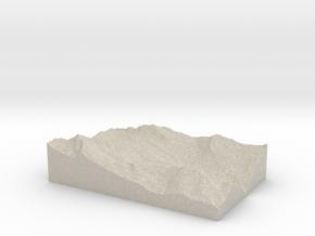 Model of Bosco/Gurin in Sandstone