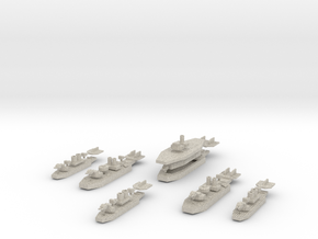Chilean Carrier Battle Group in Natural Sandstone