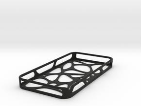 iPhone 4 / 4s case - Cell in Black Natural Versatile Plastic