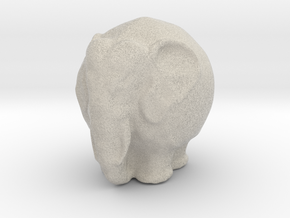 Kugelelephant in Sandstone