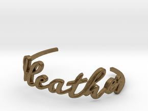 Heather Bracelet in Natural Bronze