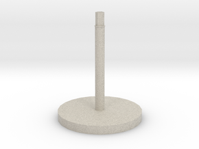 Space Craft Stand (FTL)  in Natural Sandstone