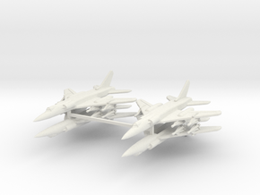 Tu-28 1:600 x4 (WSF) in White Natural Versatile Plastic