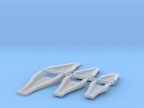 1/12 Scale NACA Duct Assortment in Frosted Ultra Detail