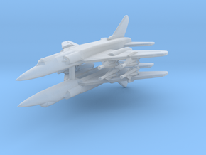 Tu-28 1:700 x2 in Smooth Fine Detail Plastic