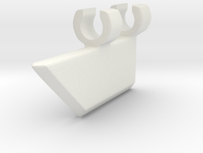 Voulge in White Natural Versatile Plastic