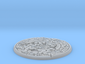 Aztec Medallion in Smooth Fine Detail Plastic