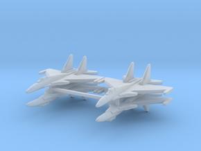 Su-37 1:600 x4 in Smooth Fine Detail Plastic