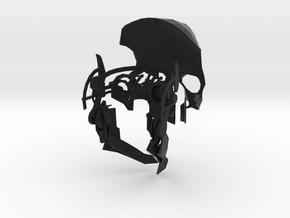 Assassin Mask Prototype in Black Natural Versatile Plastic