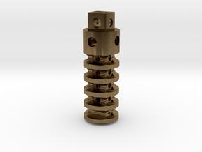 SALE New SUPER Trit Lantern ( sans GTLS vial ) in Natural Bronze