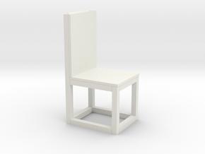chair print 3d in White Natural Versatile Plastic