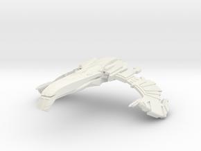 SteelBird Class Destroyer in White Natural Versatile Plastic