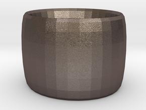 BRACELET ANYTHING BUT COLOR SNDSTNE in Polished Bronzed Silver Steel