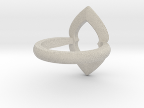 Ring-L in Natural Sandstone