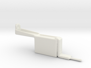 Ammo Box 7.62mm Open with Belt 1:35 Scale in White Natural Versatile Plastic