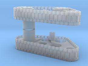 Custom Tank Treads - Pair in Smooth Fine Detail Plastic