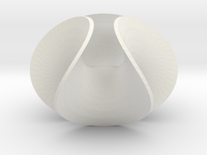 Enneper Barthelet in White Natural Versatile Plastic