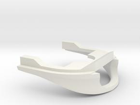 ICM Baanschuiver in White Natural Versatile Plastic