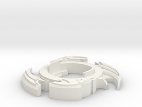 Dranzer X Upload in White Natural Versatile Plastic