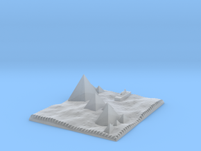 Traditional View Of The Pyramids in Smooth Fine Detail Plastic