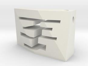 acceNL GF Silver(1:5000) in White Natural Versatile Plastic