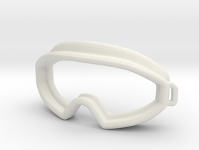 goggles final in White Natural Versatile Plastic