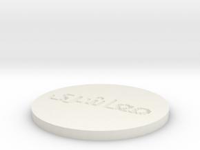 by kelecrea, engraved: عليرضا معاشرى in White Natural Versatile Plastic