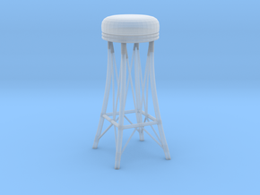 Chair in Smooth Fine Detail Plastic